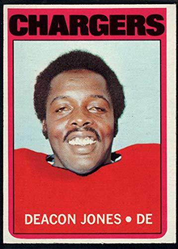 Football NFL 1972 Topps #209 Deacon Jones Chargers ()