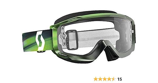 SCOTT SPLIT OTG LS MX Goggle Cross//MTB Occhiali Nero//light sensitive GRIGIO Works