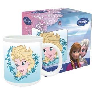 theoutlettablet® Taza de cerámica para Desayuno Frozen Ana y Elsa ...