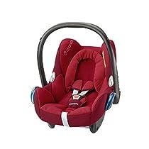 Maxi-Cosi CabrioFix - Silla de coche grupo 0+ (0 – 13 kg), Rojo (Robin Red)