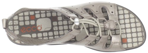 Women's Grey Jab Metallic Toggle ECCO Warm Sandal Warm Grey dTwC8q5