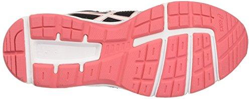 Asics Gel-Galaxy 9 Gs, Zapatillas de Gimnasia Unisex Niños Multicolor (Onyx/white/diva Pink)