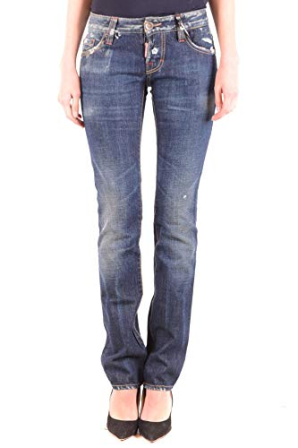DSQUARED2 Women's Mcbi36781 Blue Cotton Jeans