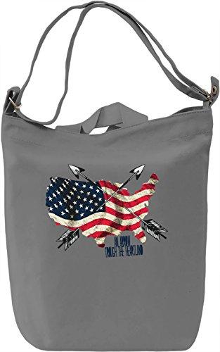 An Arrow Trough The Heartland Borsa Giornaliera Canvas Canvas Day Bag  100% Premium Cotton Canvas  DTG Printing 