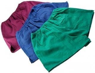 Pantaloncini Nostalgia DDR, colori: verde/blu/rosso (blu,12)