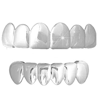 Image result for Benefits of Using High Quality And Shiny Silver Plated Grillz