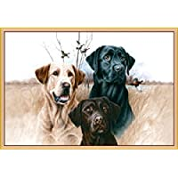 Great Hunting Dogs Rug 37x52 Geese Carpet Fishing Labrador Retriever Ducks