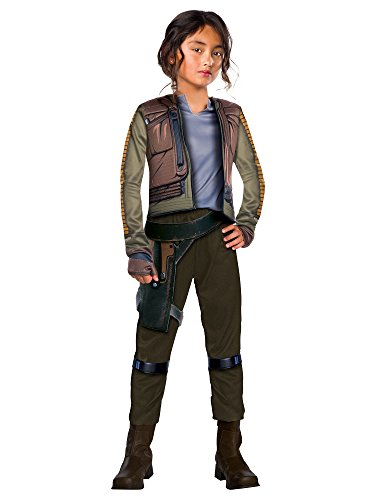 Rubie's Costume Co Rogue One: A Star Wars Story Child's Deluxe Jyn Erso -