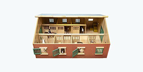 Kids Globe 610 595 - Grande Ecurie avec 7 boxes by Globe