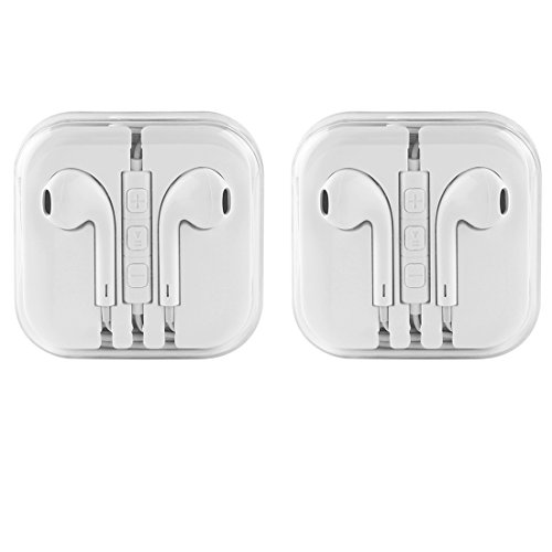 Earbuds,Earphones,Headphones,HaRuion In Ear Earbuds,In The Ear Earphones Wired with Mic/Remote Control for Apple Iphone 6S Plus/Samsung Galaxy S9 8/Huawei/Blackberry Mobile Tablet Music Players by HaRuion (Image #1)