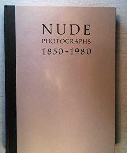 NUDE: Photographs 1850-1980.