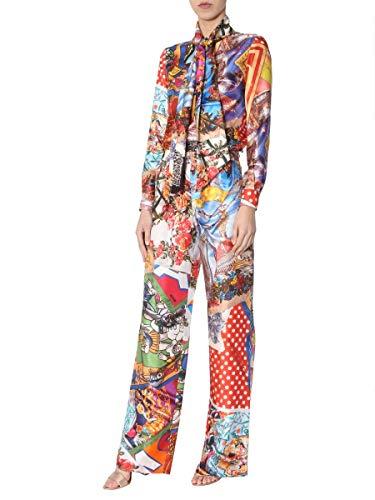 Soie Moschino Femme Multicolore Pantalon A030605571888 w06qZtF