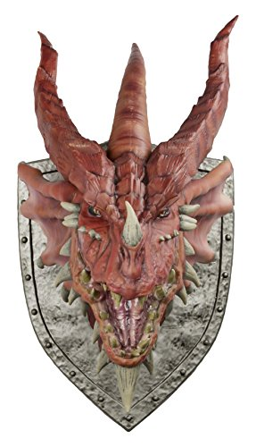 WizKids Dungeons & Dragons Red Dragon Trophy Plaque (Figure Plaque)