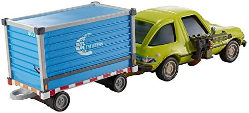DISNEY PIXAR CARS DELUXE ACER WITH LUGGAGE CART AIRPORT ADVENTURE  SERIES