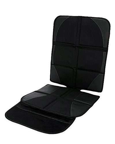Skaize Kindersitz Sitzauflage Sitzschoner Schwarz, Isofix geeignet