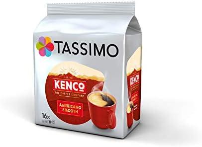 Tassimo Coffee Kenco Bundle Cápsulas de Café - Kenco Americano ...