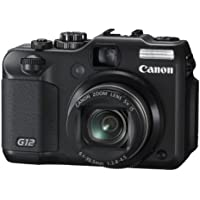 Canon Digital Camera PowerShot G12 PSG12 10MP 5x Optical Zoom Wide angle28mm 2.8-inch Vari-angle Display - International Version