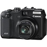 Canon Digital Camera PowerShot G12 PSG12 10MP 5x Optical Zoom Wide angle28mm 2.8-inch Vari-angle Display - International Version