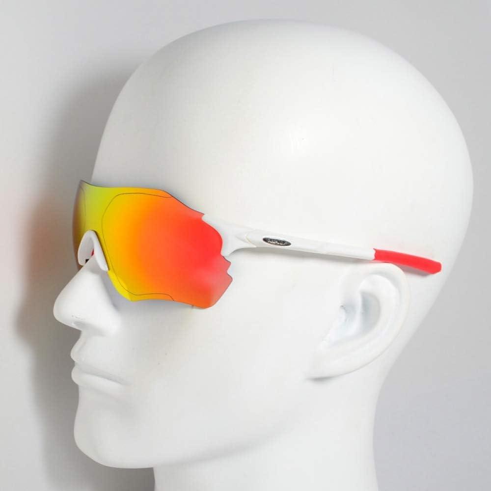 ZKAMUYLC Gafas de Ciclismo Nuevo diseño polarizado Gafas de Ciclismo para Hombre Mujer Bicicleta Gafas Ciclismo Gafas de Sol 3 Lentes UV400 Gafas Gafas fotocromáticas, style4: Amazon.es: Deportes y aire libre