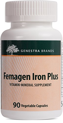 Genestra Brands - Femagen Iron Plus - Vitamin-Mineral Supplement - 90 Vegetable Capsules (Iron 90 Vegetable Capsules)