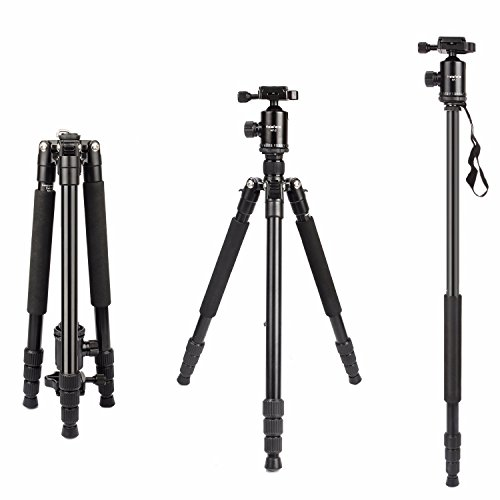 Camera Tripod, HolaFoto 65'' Travel Monopod Light Weight Alu