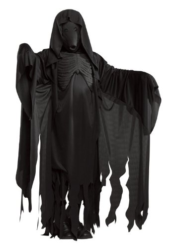 [Harry Potter Adult Dementor Costume] (Harry Potter Dementor Fancy Dress Costume)