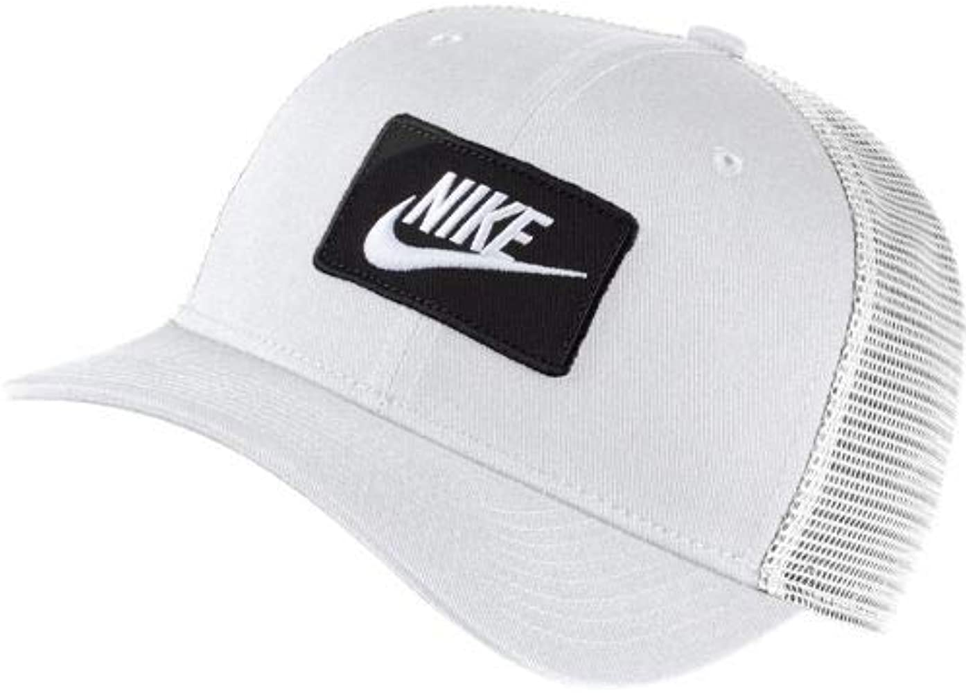 Nike U NSW CLC99 - Gorra, Unisex Adulto, White/Black, MISC: Amazon ...