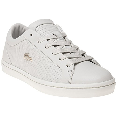 Straightset White Sneaker Lacoste White Woman 7gqwx705v