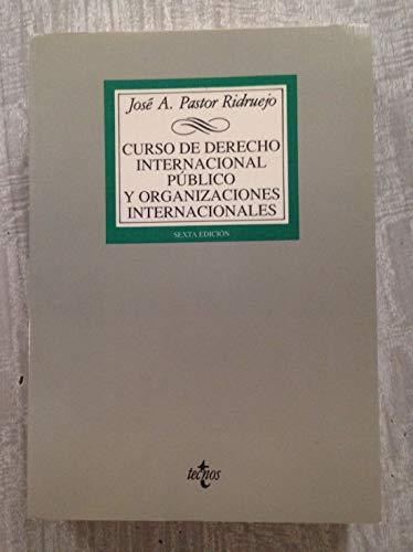 Curso derecho internacional publico y organizaciones internacionale