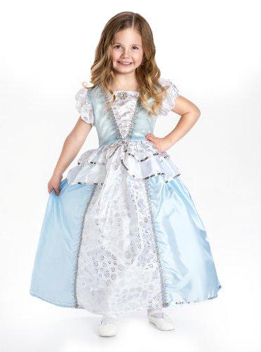 Cinderella Princess Complete Dress Set - Includes all Accessories, X-Large