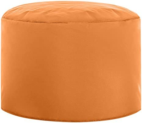 Editors' Choice: Gouchee Home Brava Pouf Collection Contemporary Polyester Upholstered Round Pouf/Ottoman