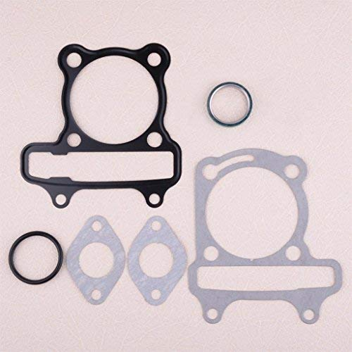 (DDV- US - 7pcs/Set Gasket Replacement Fit for Chinese Motorcycle GY6 Scooter Go Kart ATV Moped with 150cc 57.5-58.5 mm Cylinder)