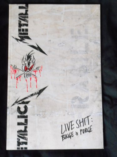 - Metallica: Live Shit Binge & Purge Book (Plus Scary Guy Stencil and Snakepit Pass)