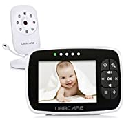 Home Video Baby Monitors Camera 3.5  Large LCD Screen Night Vision Two Way Talk Monitoring System
