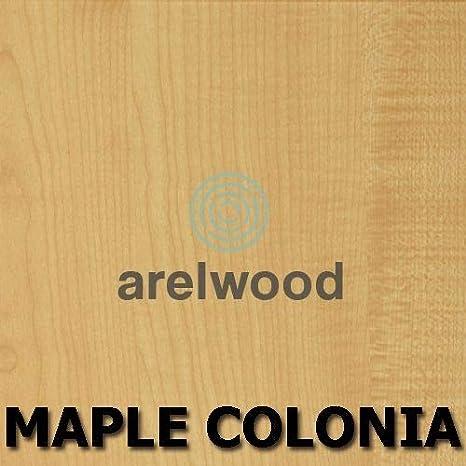 arelwood Mesilla de Noche Frente Postformado Blanca Montada 40X40-3 Cajones Alto 56,8 cm.