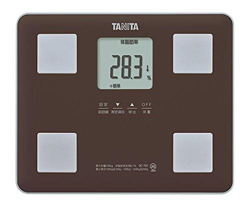 タニタ7-2899-01体組成計ブラウンBC-760-BR B07BD3XR12
