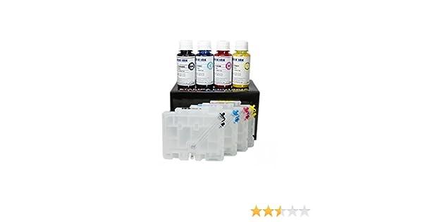 Cartuchos recargables serie GC 41 sublimación 400 ml de tinta para ...