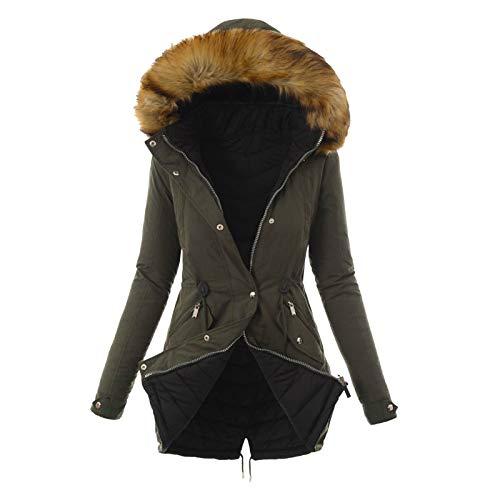 YUGHGH Women's Waterproof Ski Jacket Hooded Winter Snow Coat Mountain Snowboarding Jackets Warm Coat