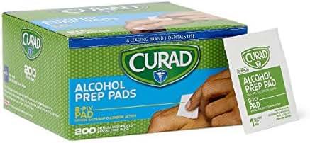 Antiseptics & Wound Care: Curad Alcohol Prep Pads