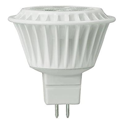 TCP 50W Equal 2700K MR16 LED Light Bulb - 7W 82 CRI 20 Deg. Narrow Flood - LED712VMR1627KNFL