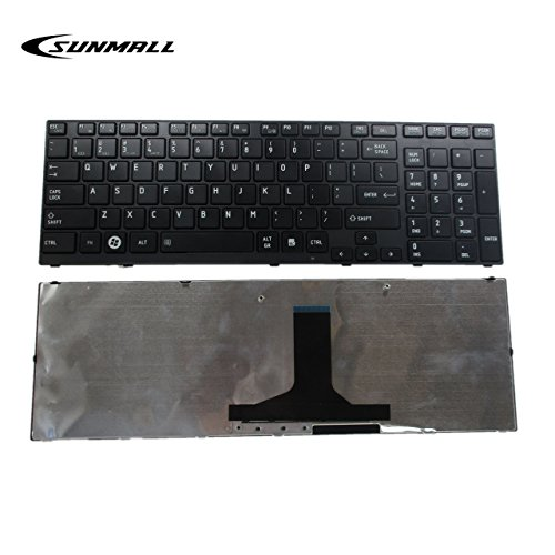 Laptop Keyboard Replacement for Toshiba Satellite P750 P750D P755 p755-s5320 P770 P770D P775 p775-s7215 Qosmio X770 X775 Series US Layout P750