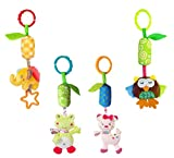 Infant Baby Rattle Toys, Kids Stroller Hanging Bell, Newborn Baby Car Crib Stroller