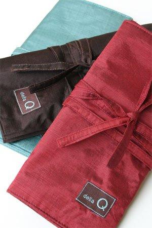 della Q Knitting Case 38-Pockets for Interchangeable Knitting Needles 050 Black 190-1-050