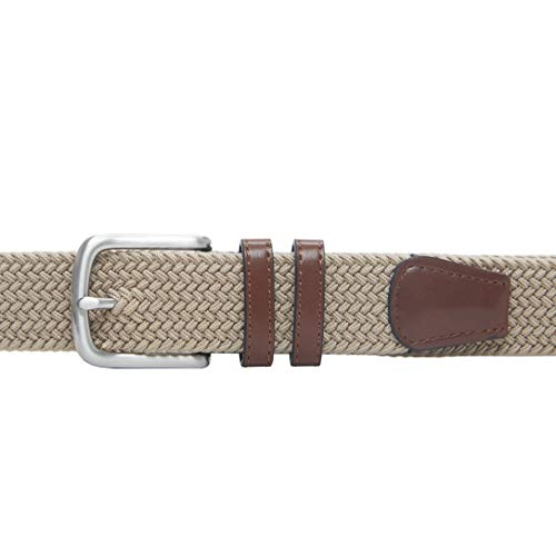 411u t5xAJL. SS500  - Amazon Essentials Men's Stretch Woven Braid Belt
