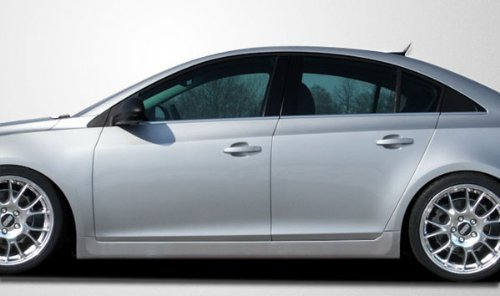 2011-2013 Chevrolet Cruze Couture RS Look Side Skirts Rocker Panels - 2 (Look Side Skirts)