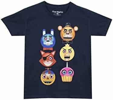 Five Nights At Freddy's Boys' Freddy Fazbear Glow in The Dark T-Shirt