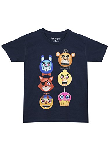 Five Nights at Freddy's Boys' Freddy Fazbear Glow in the Dark T-Shirt Size 14