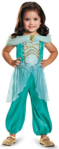 Jasmine Toddler Classic Costume, Medium (Jasmine For Halloween)