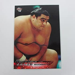 BBM2016 Masterpiece■レギュラーカード■082/武蔵丸光洋/相撲 ≪BBMスポーツカード/マスターピース≫