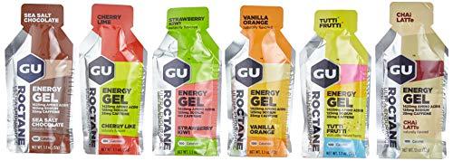 GU Roctane Ultra Endurance Energy Gel Testpaket, 6 x 32 g (verschiedene Sorten)